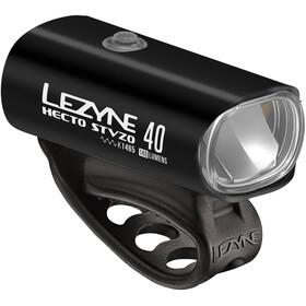 Lezyne Hecto+KTV Zestaw oświetlenia, glossy black